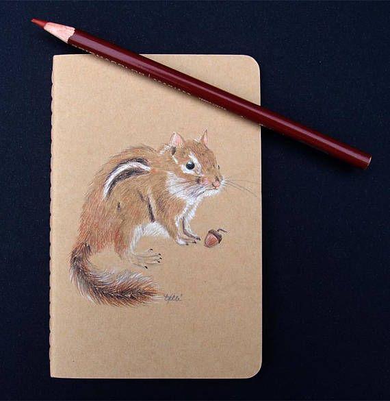 Custom Order for Kacie  Chipmunk Notebook