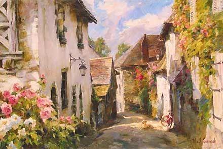 Morning in Provence - Michael and Inessa Garmash - World-Wide-Art.com - $900.00 #Garmash