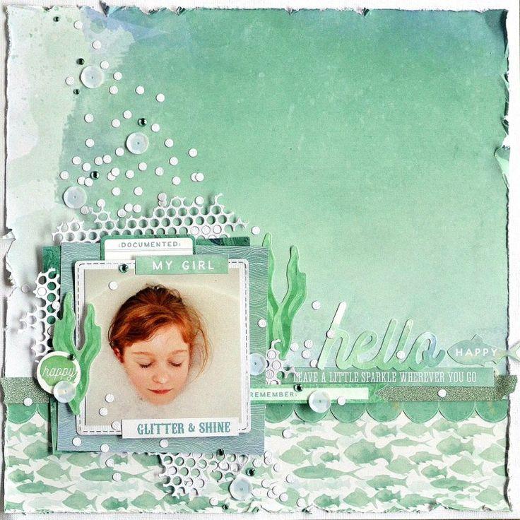 Kaisercraft - Mermaid Tails - Belinda Spencer                                                                                                                                                     More