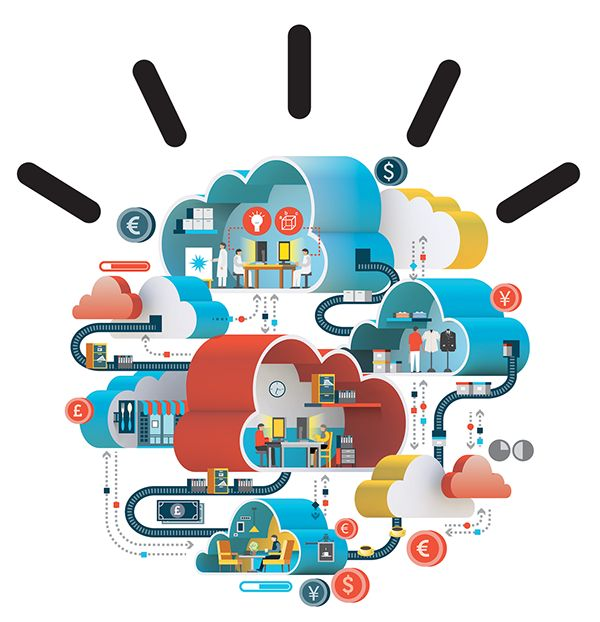 IBM ads on Behance