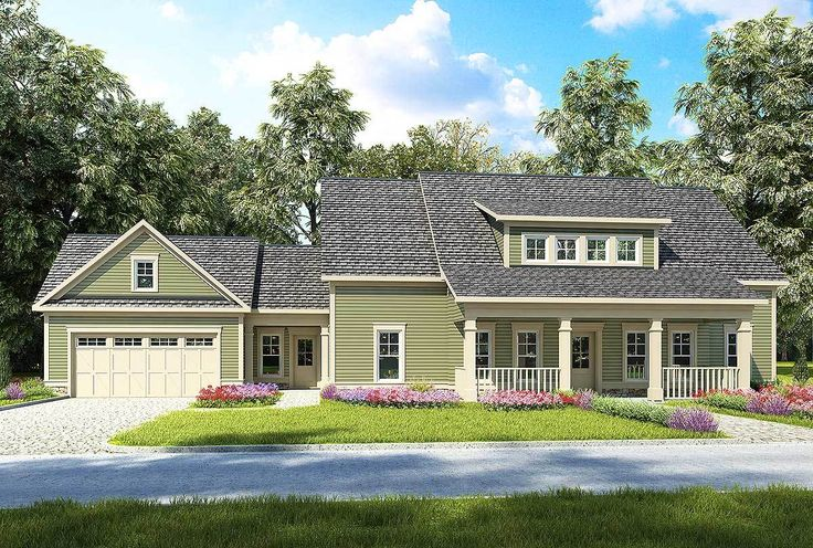 4 Bed Farmhouse with Garage and Carport Option - 36081DK | 1st Floor Master Suite, CAD Available, Country, Den-Office-Library-Study, Exclusive, Farmhouse, PDF, Split Bedrooms | Architectural Designs
