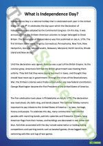 What is Independence Day Poster Teaching Resource