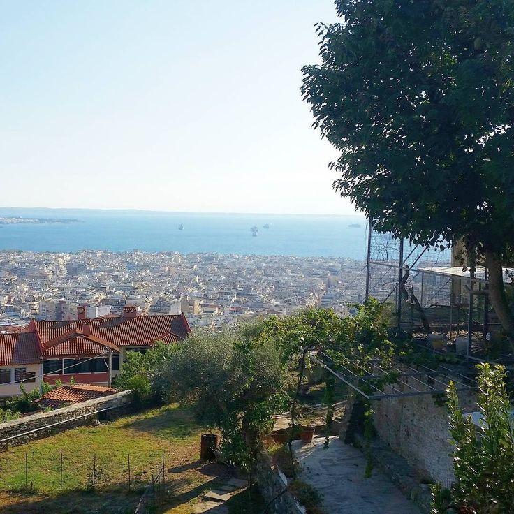Καλή και η Χαλκιδική δε λέω... Αλλά κ σαν τη Θεσσαλονίκη δεν έχει!  #thessaloniki