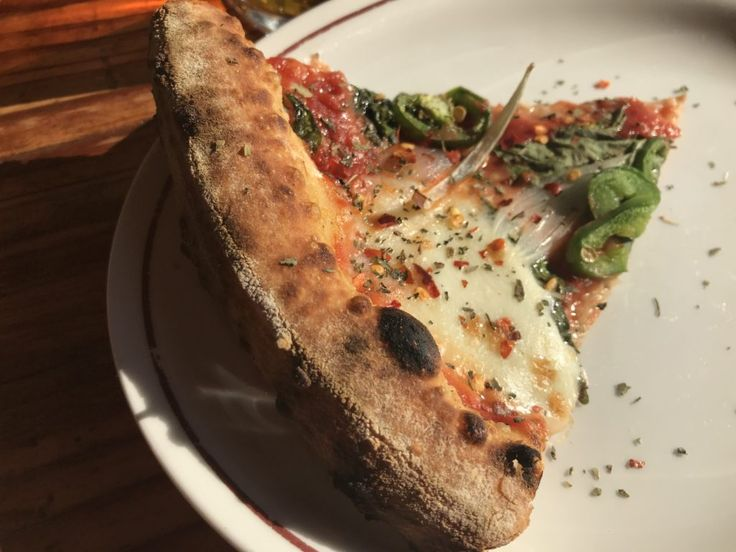 Pizza Slice from Parlor Pizza Bar in Wicker Park - Chicago