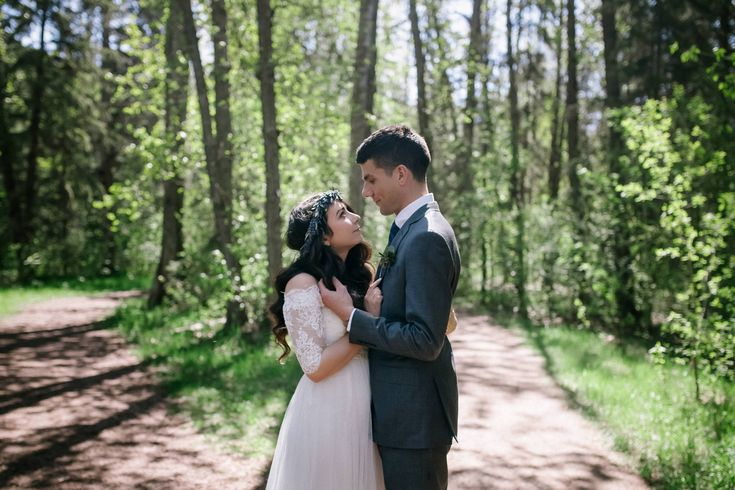Thalia + Henry   Edmonton brunch wedding - Janine Rose Photography