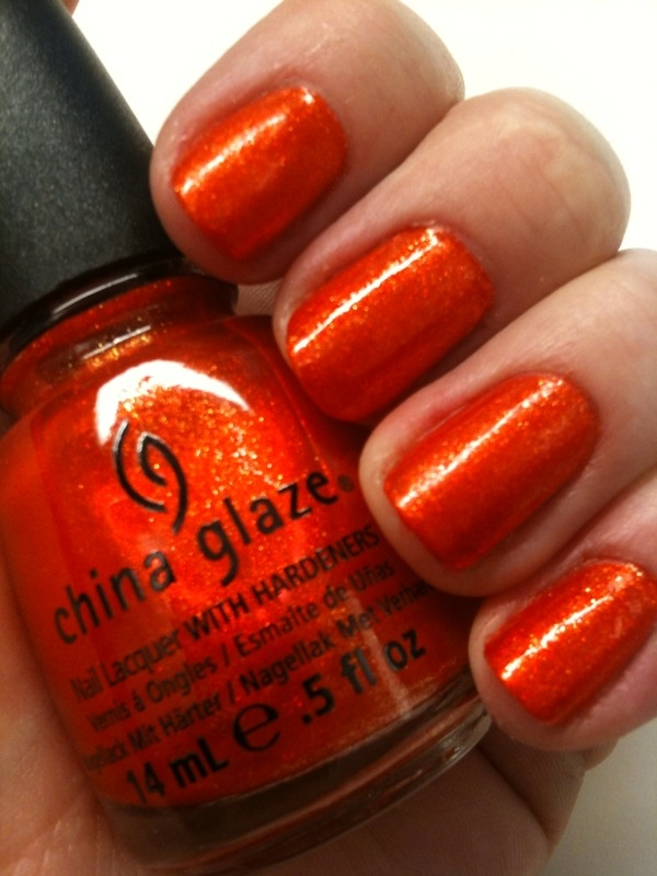 China Glaze Hunger Games Riveting
