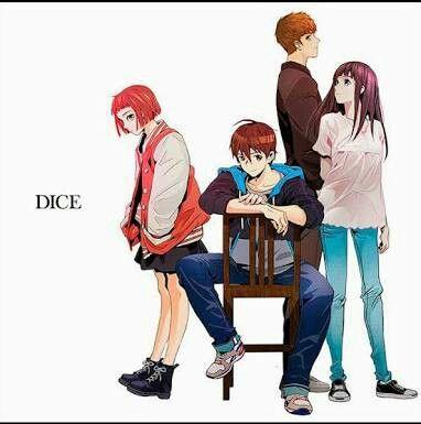 Dongtae, Mia, Eunju y Taebin (DICE: el cubo que lo cambia todo)