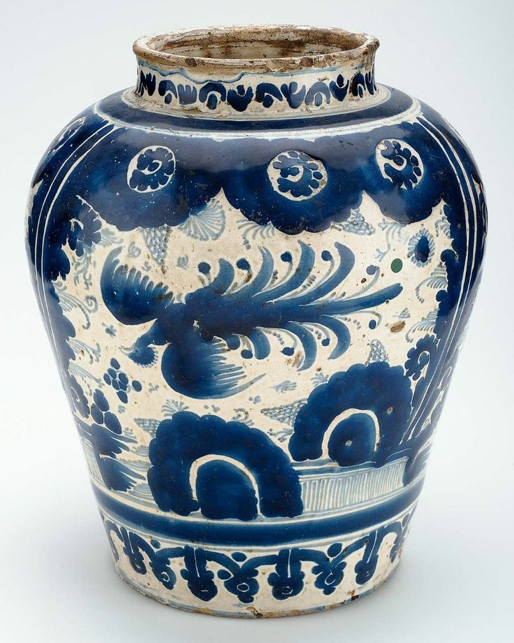 omgthatartifact:    Jar  Mexico (Puebla), 1700-1750  The Museum of Fine Arts, Boston