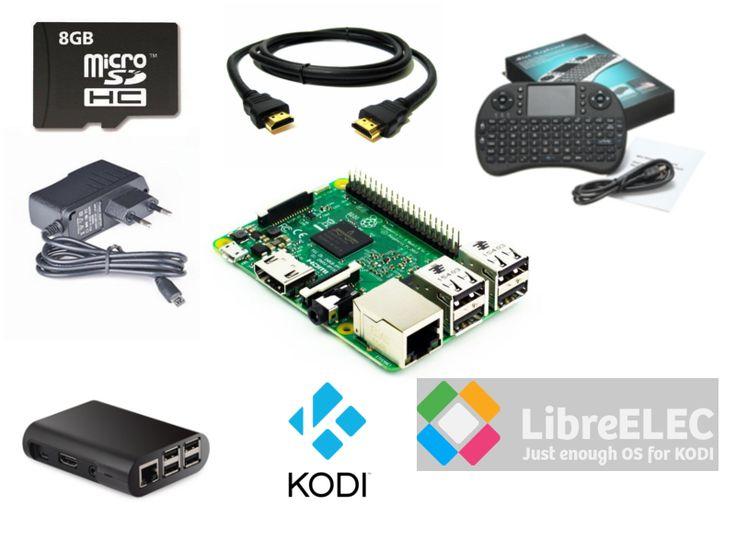 Raspberry Pi Mini TV Box – Latest KODI Entertainment Center – CAJA.TV