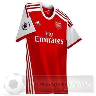 17ad8a57c Tailandia Casa Camiseta Arsenal 2019 2020 Rojo Replicas De Camisetas ...
