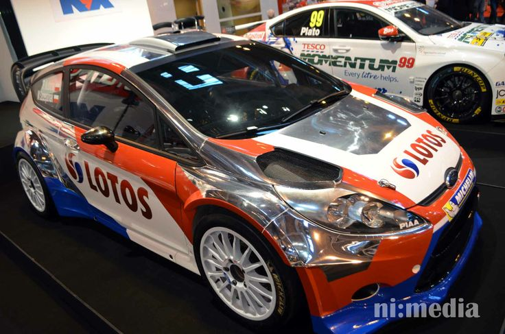 Robert Kubica 2014 Lotos backed M-Sport Ford Fiesta WRC
