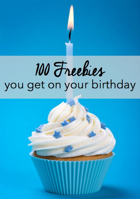 The last thing you should do on your birthday is pay for stuff. So we've put together a list of 100 places where you won't have to! Birthdays are the best why not find out a 100 birthday freebies (UK and USA) : The BIG List