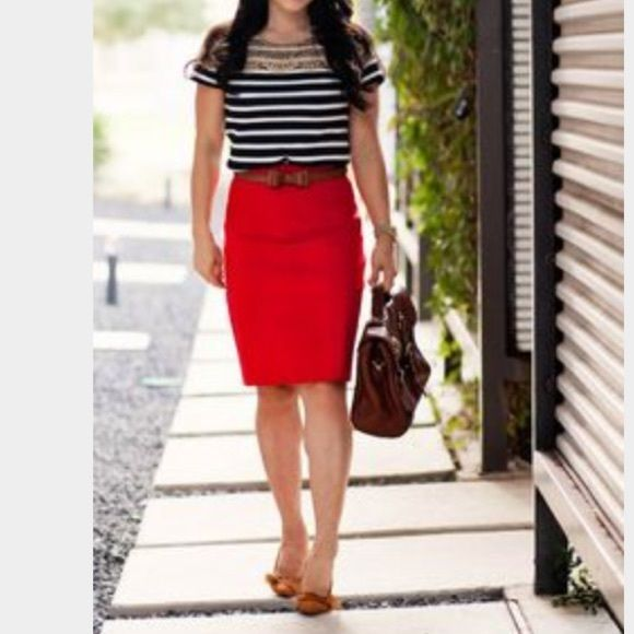 17 Best ideas about Red Pencil Skirts on Pinterest | Red pencil ...