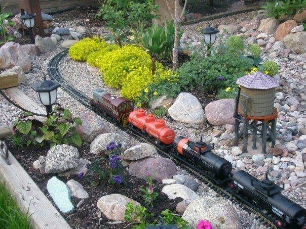 103 best Garden Railroads images on Pinterest Garden railroad