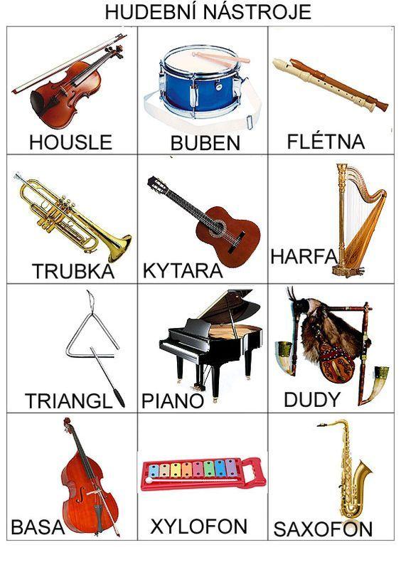 Pro Štípu: Hudební nástroje: