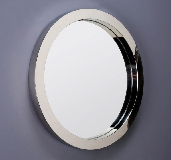 Chrome Porthole Mirror, Perfect Contemporary Home Accent, Sharing Unique Luxury Hollywood Home Decor & Gift Ideas Courtesy Of InStyle-Decor.com Beverly Hills Enjoy & Happy Pinning