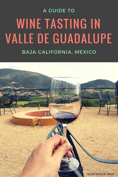 Wine tasting guide for Valle de Guadalupe in Baja California, Mexico!
