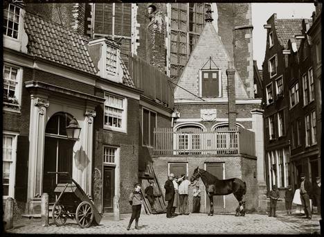 Jacob Olie Oudekersplein Amsterdam 15 mei 1894