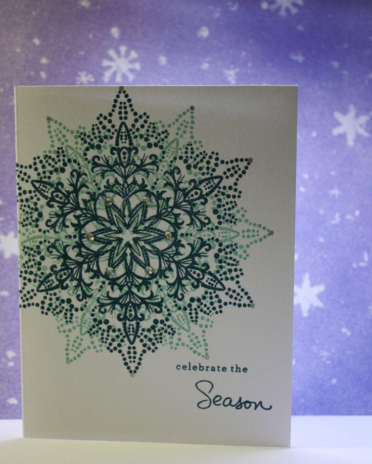 Hero arts dotted snowflake