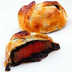 Delia Smith's mini boeufs en croute. The thing about Delia's recipes is they work just as they should.