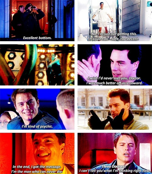 Captain Jack Harkness. I love Captain Jack!!! @Barbara Cowher-Dejesus