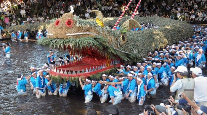 Unique Japanese #dragon festival that only occurs once every 4 years. #festival #saitama