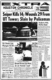 Charles Whitman - All American turns sniper - Texas Tower Sniper