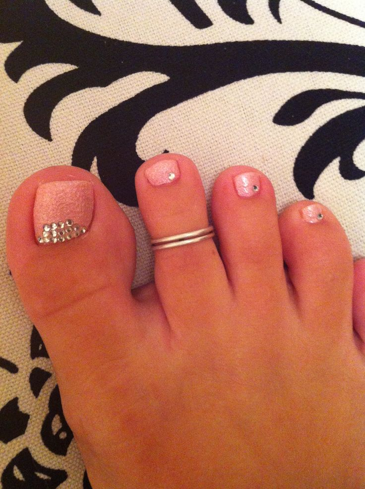 178 best toes images on pinterest coat storage happy birth and pink rhinestones toe design prinsesfo Images