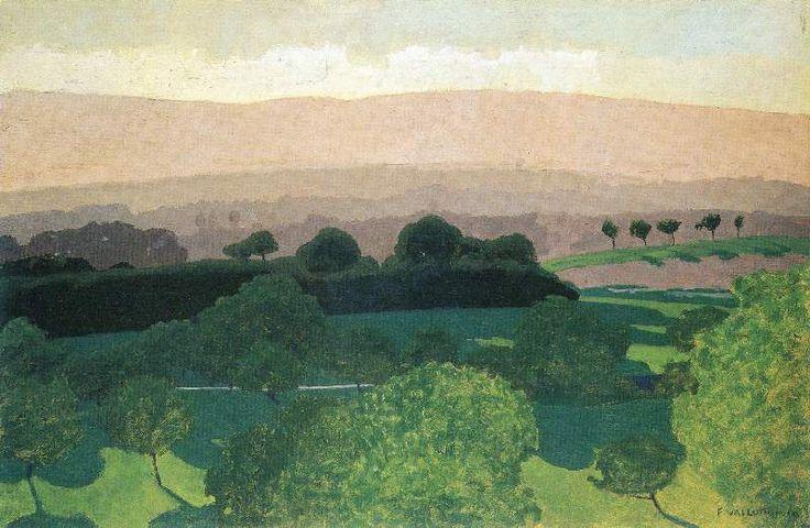 Félix Vallotton, Landscape in Romanel