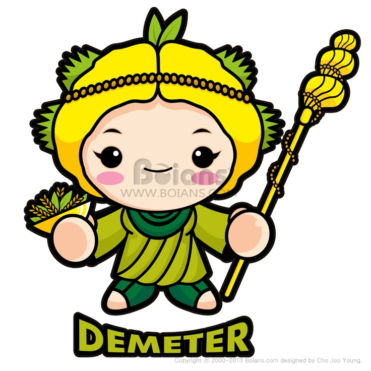 농업의 여신 데메테르 (BCDS010006) Agricultural goddess Demeter (BCDS010006) Copyrightⓒ2000-2013 Boians.com designed by Cho Joo Young.