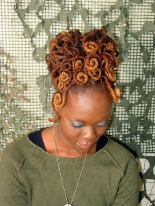 Female Dreads Hairstyles Alluring 64 Best Female Loc Styles Images On Pinterest  Dreadlock Hairstyles