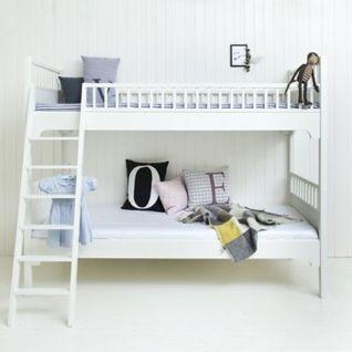 Doppeltes Glück! Das Doppelstockbett kann auch in zwei einzelne Betten umgebaut werden.