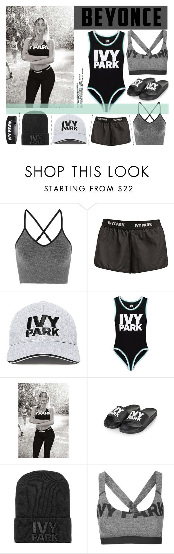 """""""Ivy Park"""" by agg1994 ❤ liked on Polyvore featuring Ivy Park, Topshop and Beyonce"""