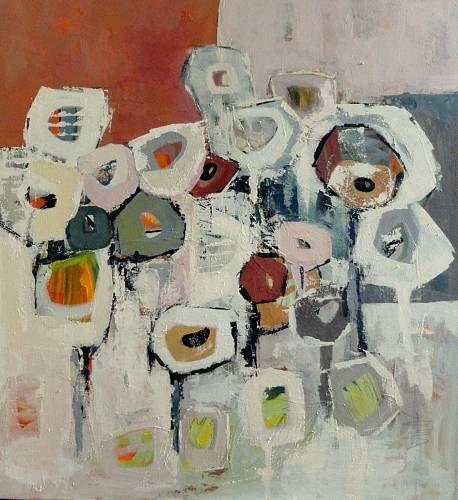 """Angela Fusenig, """"Serie Kompositionen"""" Mit einem Klick auf """"Als Kunstkarte versenden"""" versenden Sie kostenlos dieses Werk Ihren Freunden und Bekannten."""