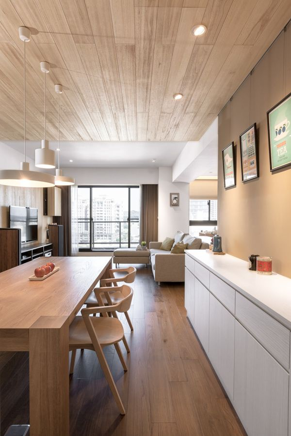 PartiDesign | The Wooden Apartment by Hey!Cheese, via Behance
