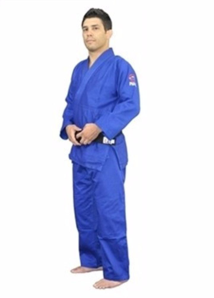 FUJI Sports Double Weave Judo Gi Blue