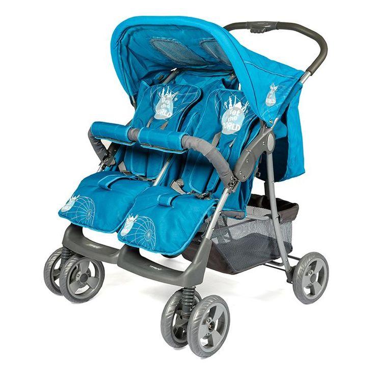 Crystal Baby CB-235 Twin İkiz Bebek Arabası