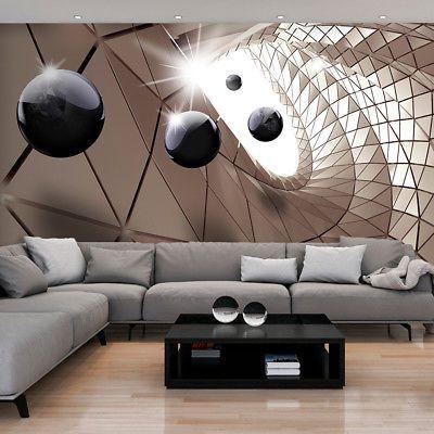 vlies fototapete 3d kugeln tapete tapeten schlafzimmer wandbild xxl fob0033 - Fantastisch Attraktive Dekoration Fototapete Nach Mas