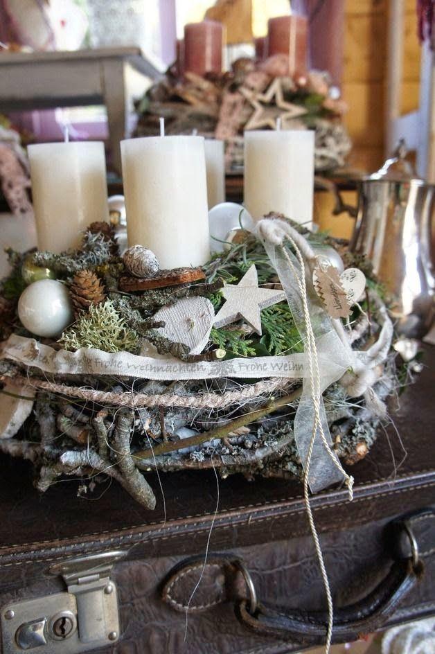 making a christmas wreath
