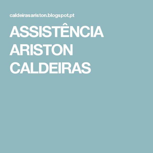 ASSISTÊNCIA ARISTON CALDEIRAS