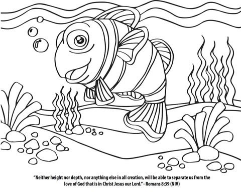 FREE Coloring Page That Goes Perfect With The New Finding Jesus 12 Week Childrens Ministry
