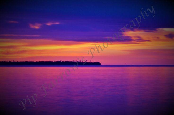 My stunning Fijian sunrise taken in 2014 on my very first trip overseas.