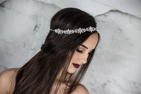 Bruids hoofdband bruiloft hoofdband haar floaters bruids