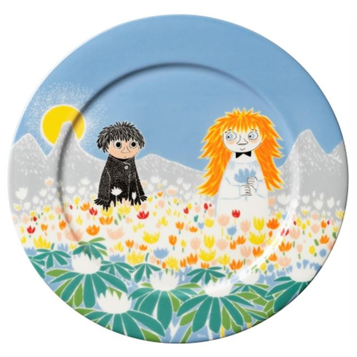 Moomin Friendship Dish 30 cm by Arabia - The Official Moomin Shop  - 1