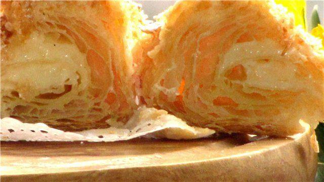 Слоеное тесто (тисячелистник) беспроигрышный вариант рецепт с фотографиями