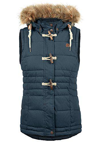 Want pour Down Jacket sans les Lori Gilet veste Sweat femmes manches nOwkP0