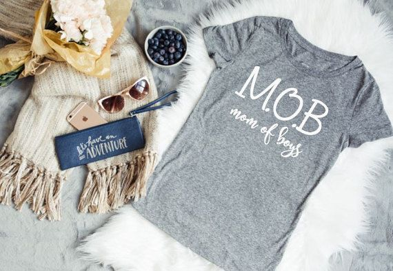 Mom of boys shirt, mom of boys, boy mom shirt, mom life shirt, gift for mom, Mother's day gift, Funny mom shirt, shirts for moms of boys,