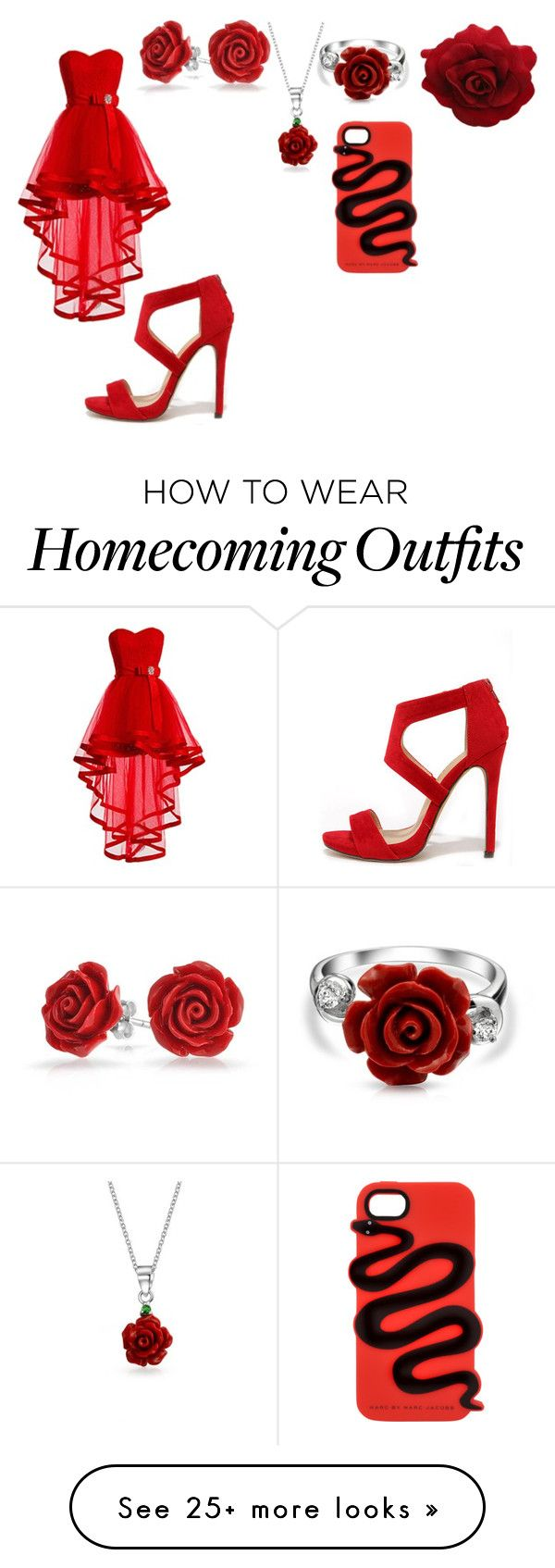 """""""Untitled #238"""" by candysmash6252 on Polyvore featuring Liliana, Bling Jewelry and Marc by Marc Jacobs"""