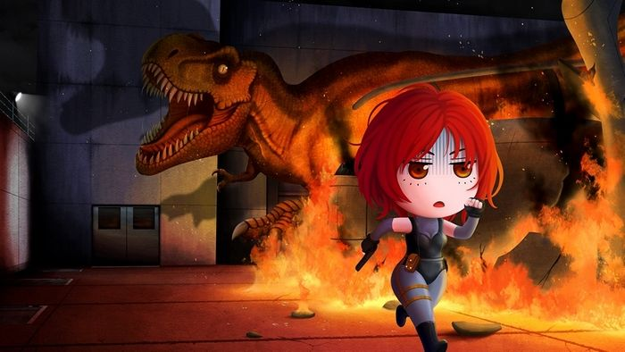 Pin By Mohammad Foroughi On Dino Crisis Dino Crisis Chibi Survival Horror Game
