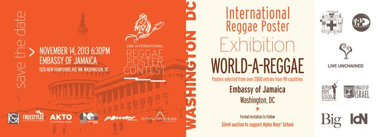See you next Thursday evening at the Jamaican Embassy in D.C. for the hottest art exhibition this fall? #events #dc #reggae #art #jamaica